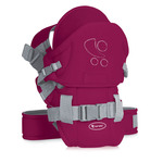 Lorelli Кенгуру BABY CARRIER TRAVELLER COMFORT RED